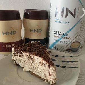 Torta de Shake H+ Capuccino e Coffee HND 4