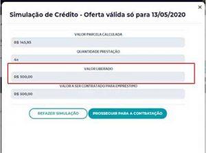 Empréstimo Hinode - Crédito aprovado
