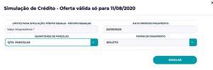 Emprestimo Hinode - Formulario de Simulação de Empréstimo