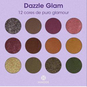 Paletas Dazzle Glam - Cores
